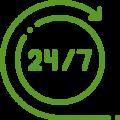 24 на 7